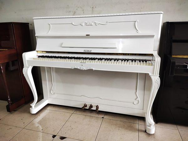 PIANO PETROF ANTIK WHITE